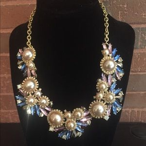 Sparkly Accent Statement Necklace ModCloth NWT